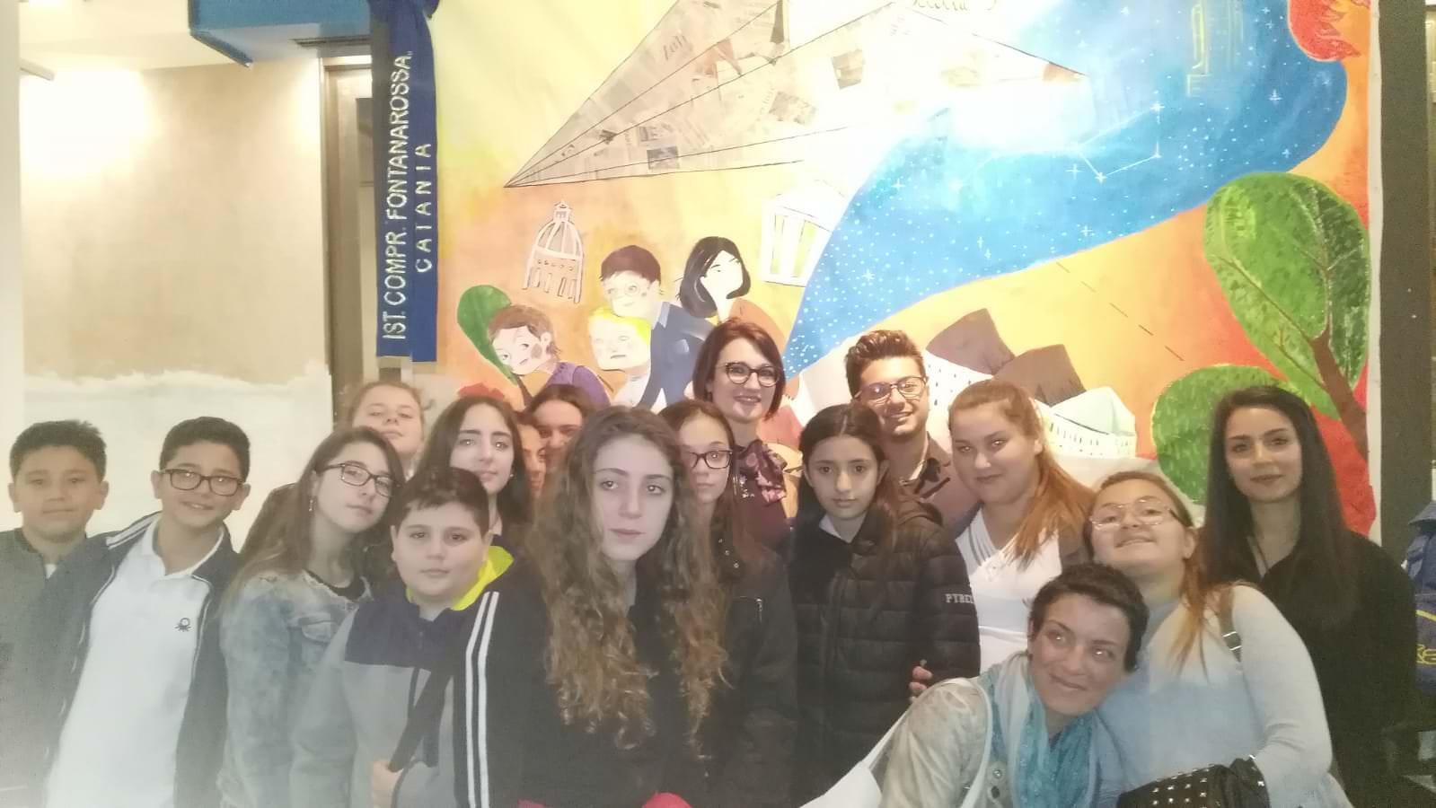 Scuola e arte: viaggiare, conoscere e creatività del Fontanarossa