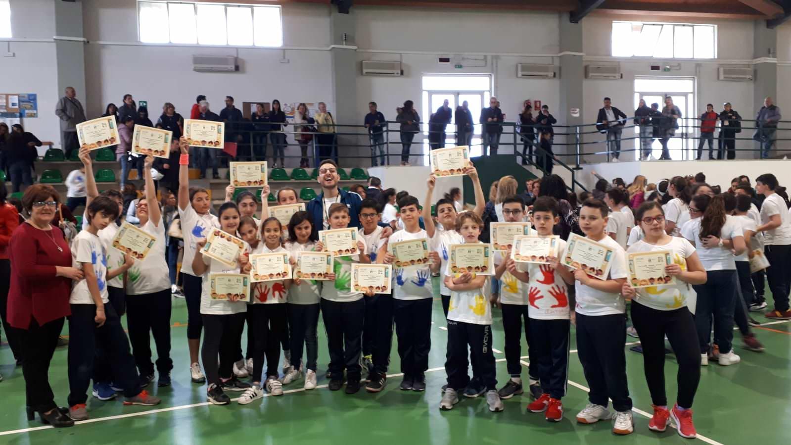 """""""Sport di classe"""" al Circolo Didattico Giuseppe Fava di Mascalucia"""