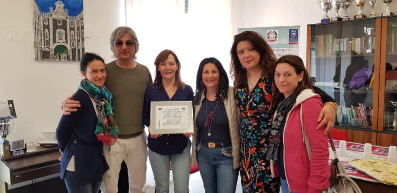 Istituto Comprensivo Fontanarossa di Catania all'Euro School Festival 2019