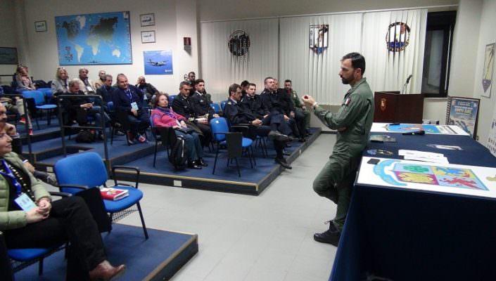 """""""Comunicare Sigonella"""", seminario dell'aeronautica militare per i giornalisti – Le FOTO"""