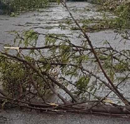 Maltempo flagella la Sicilia: tromba d'aria e violenti temporali nel Ragusano – FOTO