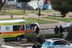 Incidente al viale Africa: pedone travolto da un'auto. Sul posto 118 e polizia
