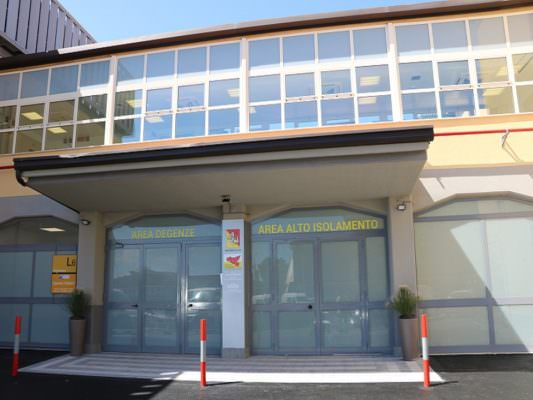 Ospedale Cannizzaro di Catania: realizzata una nuova area di alto isolamento per il rischio infettivo