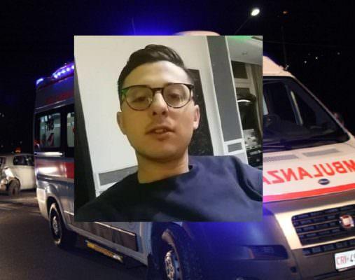 Perde il controllo dell'auto e finisce in una scarpata: muore il 22enne Cristian Cannia, 4 feriti