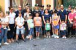 Catania, i piccoli pazienti del Policlinico in visita nella sede dei carabinieri di piazza Verga