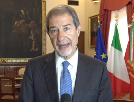 """Rischio nuovo lockdown ancora presente, Musumeci: """"Per evitarlo lo Stato deve tenere in vita i cittadini"""""""