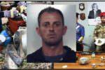 Arsenale e droga dentro ovile nel Catanese: in manette un 37enne