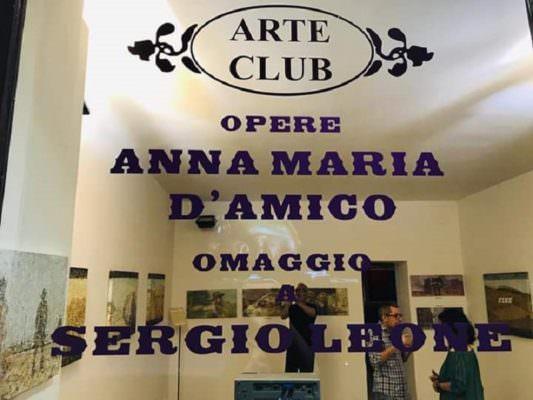 """A Catania la mostra della pittrice Anna Maria D'Amico per rendere omaggio a """"Sergio, il Leone d'America"""""""
