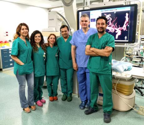 Delicatissimo intervento al Cannizzaro di Catania, salvato bambino da malformazione artero-venosa