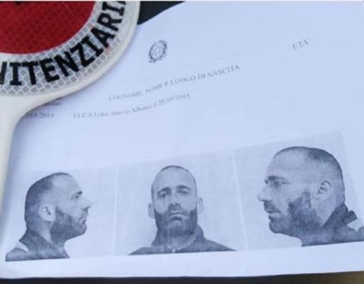 Evade dal carcere scavalcando il muro di cinta e scappando via: è caccia a Luca Leke
