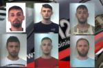 Fermati rapinatori seriali di auto e moto e nei centri commerciali: FOTO e NOMI dei 6 arrestati