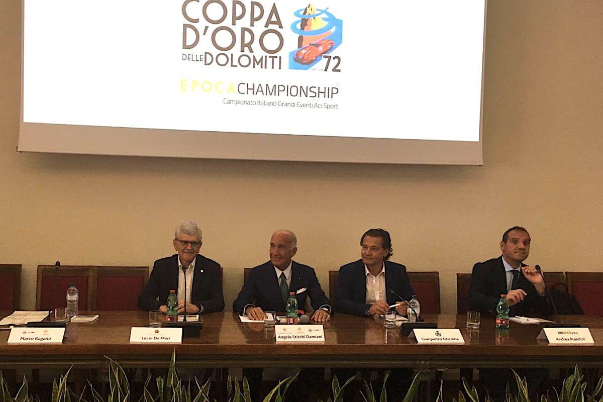 """STICCHI DAMIANI PRESENTA 72^ COPPA D'ORO DOLOMITI """"EVENTO IN CRESCITA"""""""
