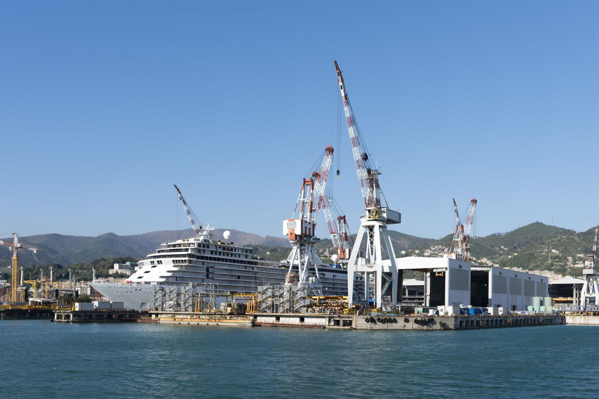 """Palermo, positivi 7 operai dei cantieri navali sulla Star Breez. Fincantieri: """"Rispettati i protocolli"""""""
