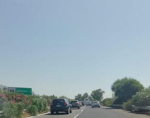 Autostrada A18, lunghe code tra lo svincolo di Taormina e il rifornimento di Calatabiano