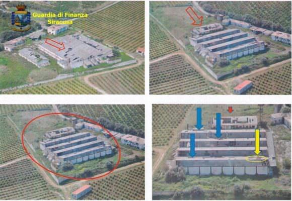 Capannone di amianto in degrado: operazione della Finanza, sequestrata area di oltre 20mila metri quadrati