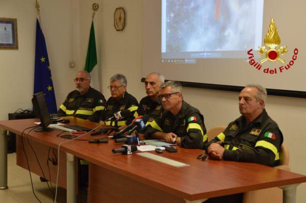 Visita del capo del corpo nazionale dei vigili del fuoco a Catania – FOTO