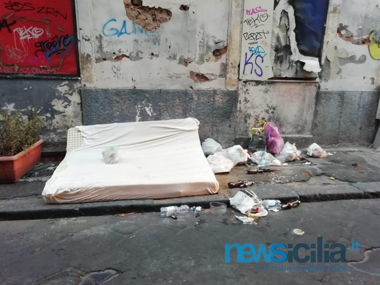 Catania, città ostaggio del degrado e dell'inciviltà…