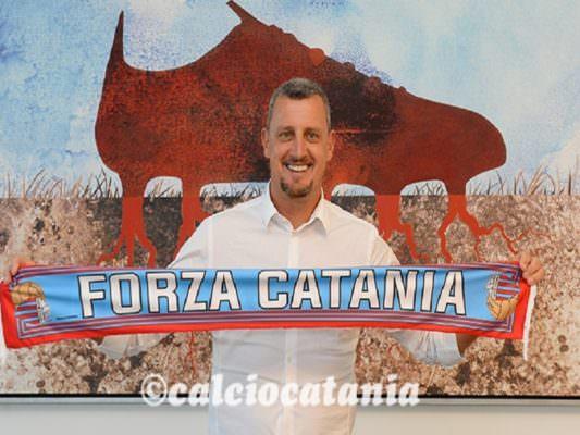 Calcio Catania, arriva l'ufficialità: Andrea Camplone è il nuovo allenatore