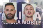 """Rubano un'auto e chiedono il """"cavallo di ritorno"""" al proprietario: due arresti nel rione Picanello"""