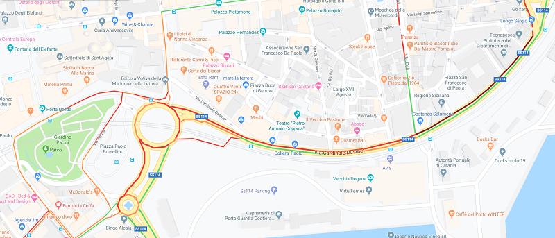 Catania, tutti al mare… automobilisti bloccati in direzione Porto e Lidi Playa, file chilometriche