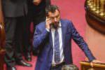 """SALVINI SFIDA IL M5S """"VOTIAMO IL TAGLIO DEI PARLAMENTARI, POI ALLE URNE"""""""