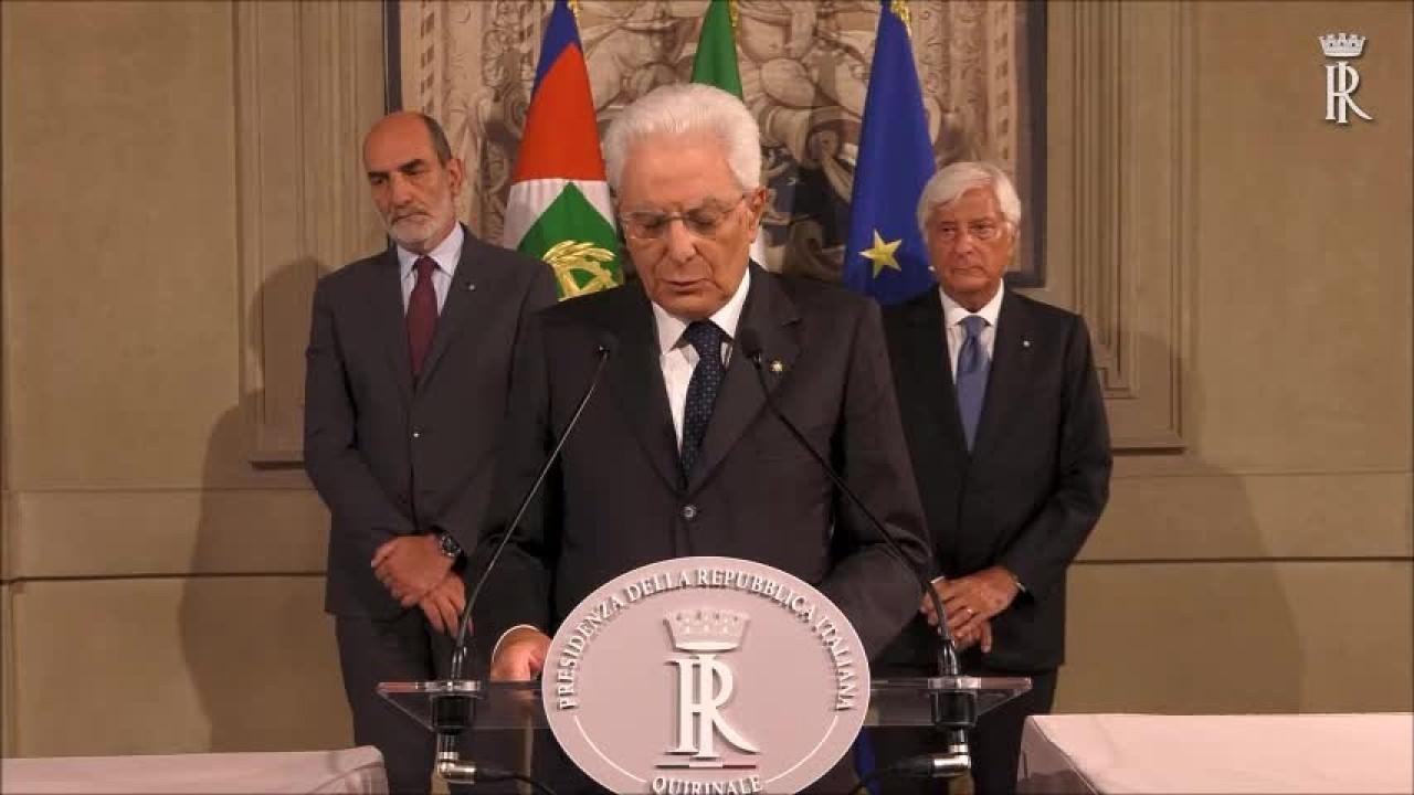 """Mattarella """"Nuove consultazioni da martedì"""""""