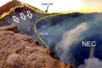 Etna, cambiamenti in corso nel vulcano: crolla parete settentrionale del Cratere di Nord-Est