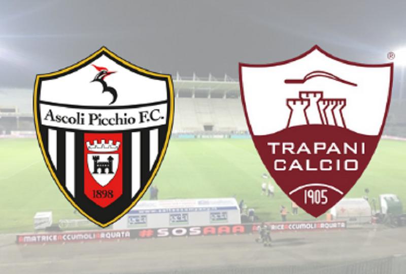 Stop al debutto ad Ascoli per il Trapani: i granata perdono 3-1