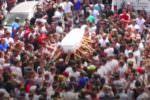Palermo saluta Gianluca Montesano: piazza gremita di gente, musica e fuochi d'artificio