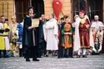 Grande partecipazione di pubblico per la terza giornata del Mad Fest e il momento della consegna delle chiavi del 64° Palio dei Normanni
