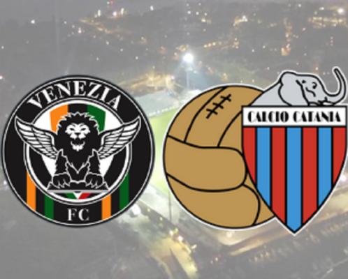 """Sconfitta di misura per il Catania al """"Penzo"""" di Venezia per 2-1: rossazzurri eliminati, ma che fanno ben sperare"""