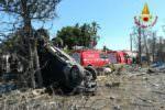 Paura a Catania, Suv esce di strada e si ribalta finendo su un muro: feriti 6 minorenni
