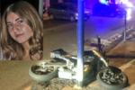 In scooter con il fratello diretti ad una festa, disperazione per la morte di Aurora De Domenico