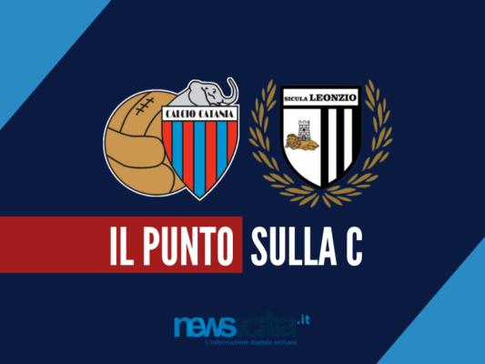 Serie C: ancora un pari casalingo per il Catania, continua la rimonta della Sicula Leonzio
