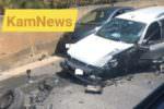 Scontro tra tre auto sulla SP 19: diversi i feriti, donna in codice rosso al Cannizzaro di Catania