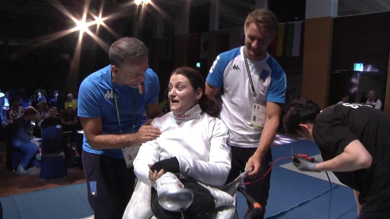 Nora oro nella spada ai mondiali paralimpici
