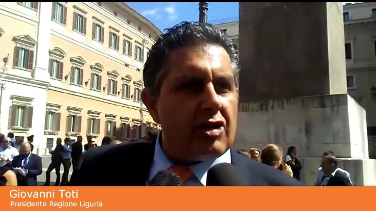 "Toti ""Ingiuste accuse a Salvini su crisi governo"""