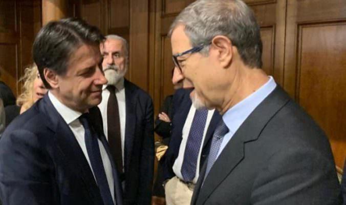 """Dissesto Comuni in Sicilia, Musumeci scrive a Conte: """"Servono interventi per consentire le funzioni essenziali"""""""