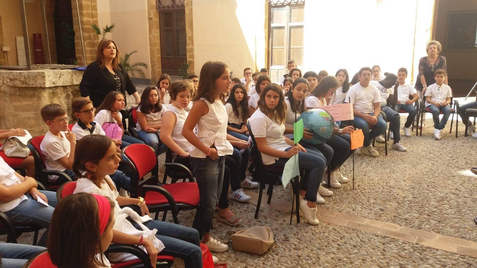 Ecosostenibilità, dibattito sul clima per gli studenti dell'istituto comprensivo Salvatore Quasimodo di Agrigento – FOTO