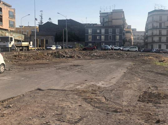 Catania, partiti i lavori per la realizzazione del parcheggio tra viale Bernini e largo Bordighera