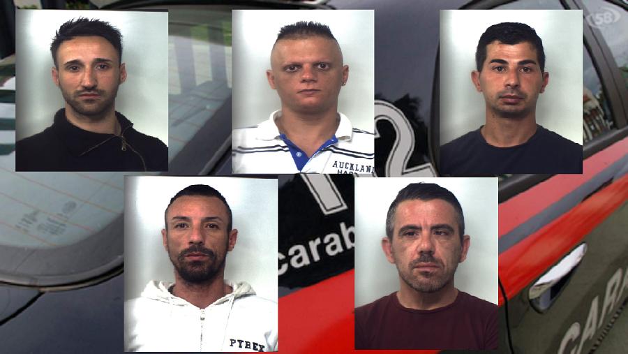 """Poste, farmacie, supermercati… rapine """"ad opera d'arte"""" nel Catanese: 5 arrestati – NOMI, FOTO e VIDEO"""