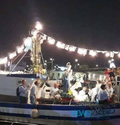 Momenti di tensione a Ognina durante i festeggiamenti della Madonna Bambina: niente fuochi a mare