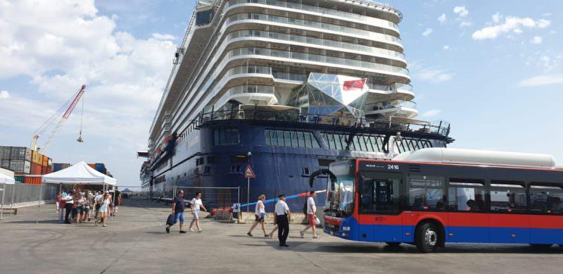 """Catania, navette al porto per i passeggeri delle navi da crociera. Bellavia: """"Muoviamo i turisti e l'economia"""""""