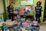 Privi degli standard di sicurezza e nocivi per la salute: sequestrati oltre 50mila articoli in negozio cinese