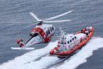 Hashish e cadaveri di tre sub. Elicottero della Guardia Costiera batte costa tirrenica in cerca di relitti: previste ricognizioni subacquee