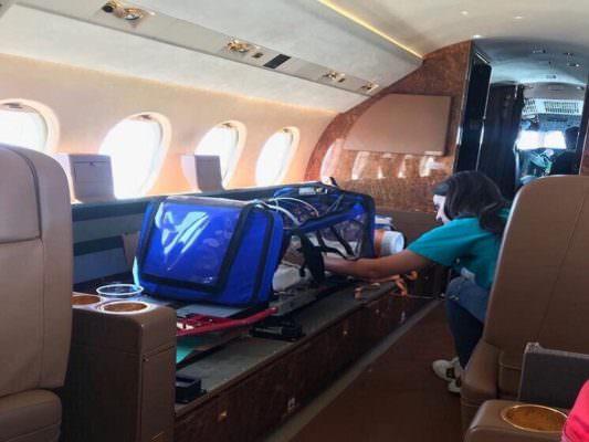 Catania, bambina di pochi giorni in pericolo di vita: effettuato trasporto a Roma grazie all'Aeronautica Militare