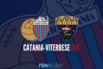 Catania-Viterbese Castrense 1-0, i rossazzurri piegano i laziali su calcio di rigore – RIVIVI LA CRONACA