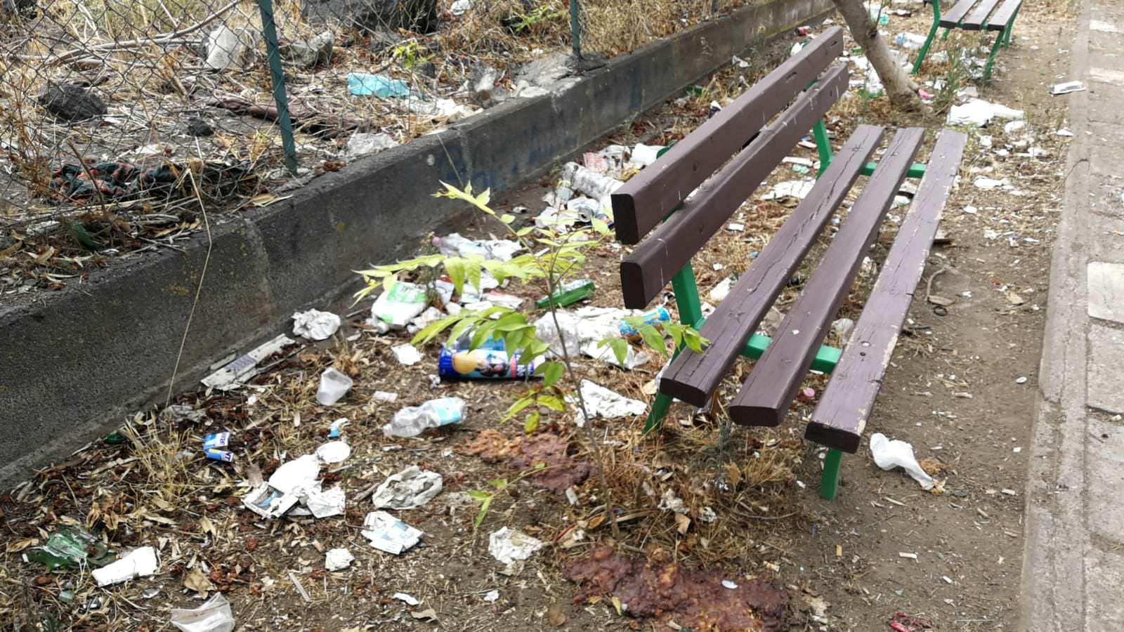 """Degrado al parco Gambetta e Lizzio, il Comitato Terranostra di Catania propone """"autogestione"""" – FOTO"""
