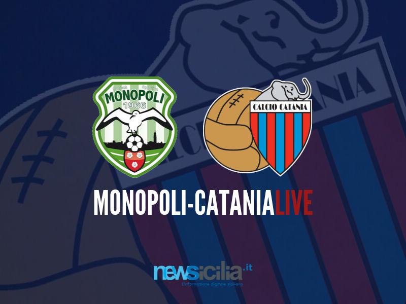 Monopoli-Catania 4-2, i black out difensivi costano cari: rossazzurri sconfitti in Puglia – RIVIVI LA CRONACA