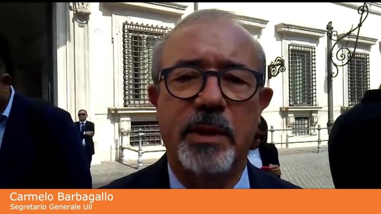 """Governo, Barbagallo """"Serve vera svolta sul lavoro"""""""